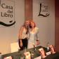 Regina Román (presentación Gato por Liebre en FNAC)