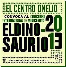 Cartel Dinosaurio 2013