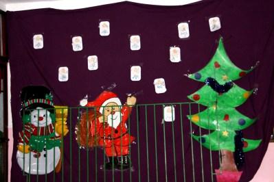 Decoración navideña guardería