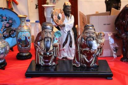 Puesto de artesanía (Feria del Año Nuevo Chino)