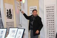 Stand Asociación de calígrafos chinos (Feria del Año Nuevo Chino)