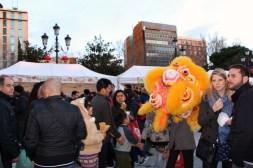 Baile de Dragón (Feria del Año Nuevo Chino)